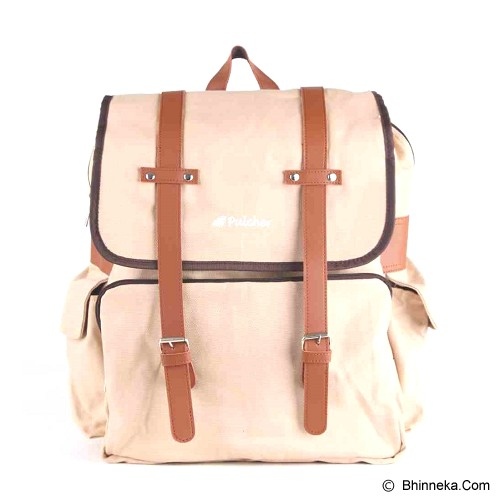 PULCHER Destino [D-02] - Cream - Backpack Wanita